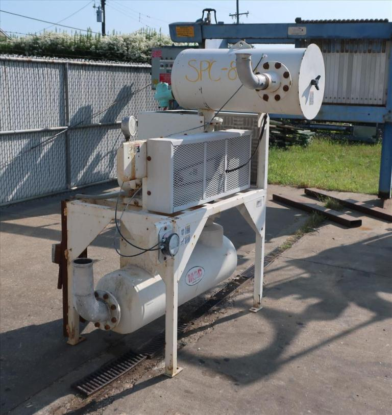 Blower up to 580 cfm, positive displacement blower MAC Equpment Inc., 5 hp