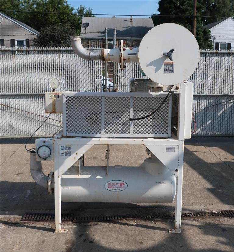 Blower up to 580 cfm, positive displacement blower MAC Equpment Inc., 5 hp2