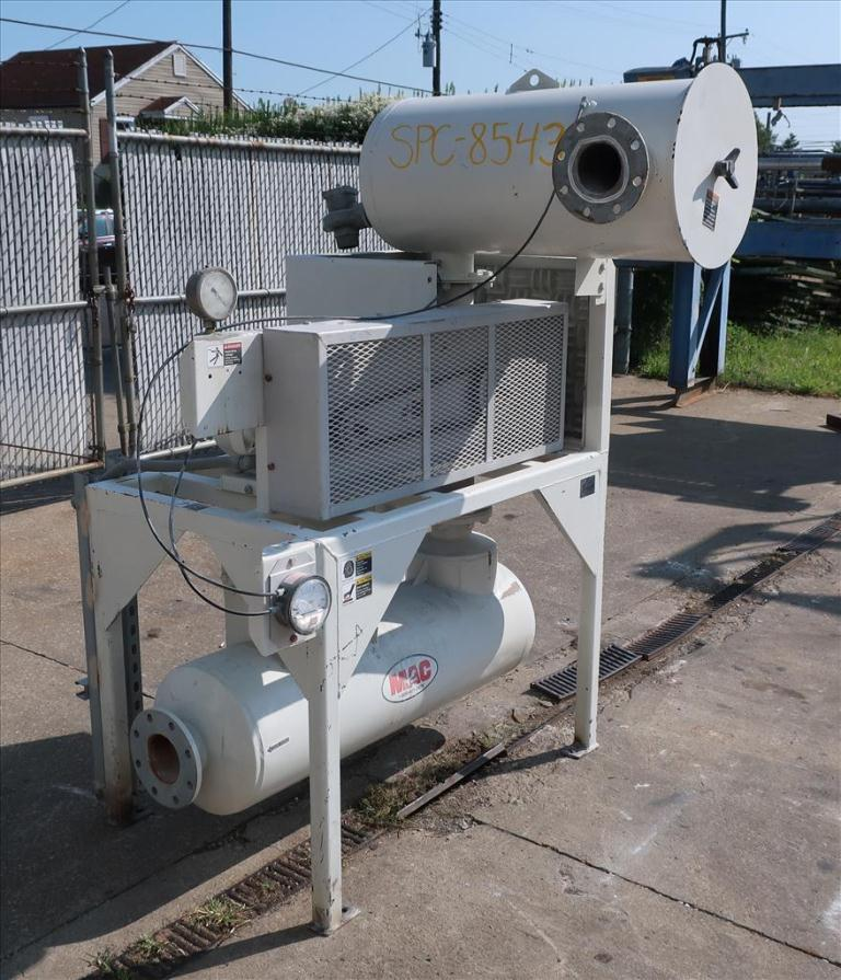 Blower up to 580 cfm, positive displacement blower MAC Equipment Inc., 5 hp1