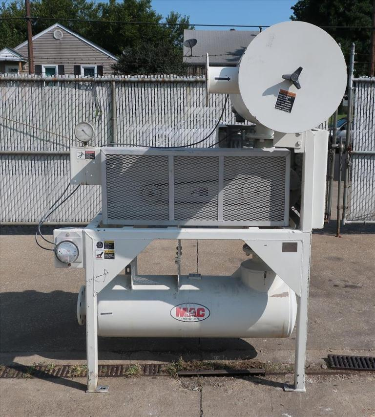 Blower up to 580 cfm, positive displacement blower MAC Equipment Inc., 5 hp2