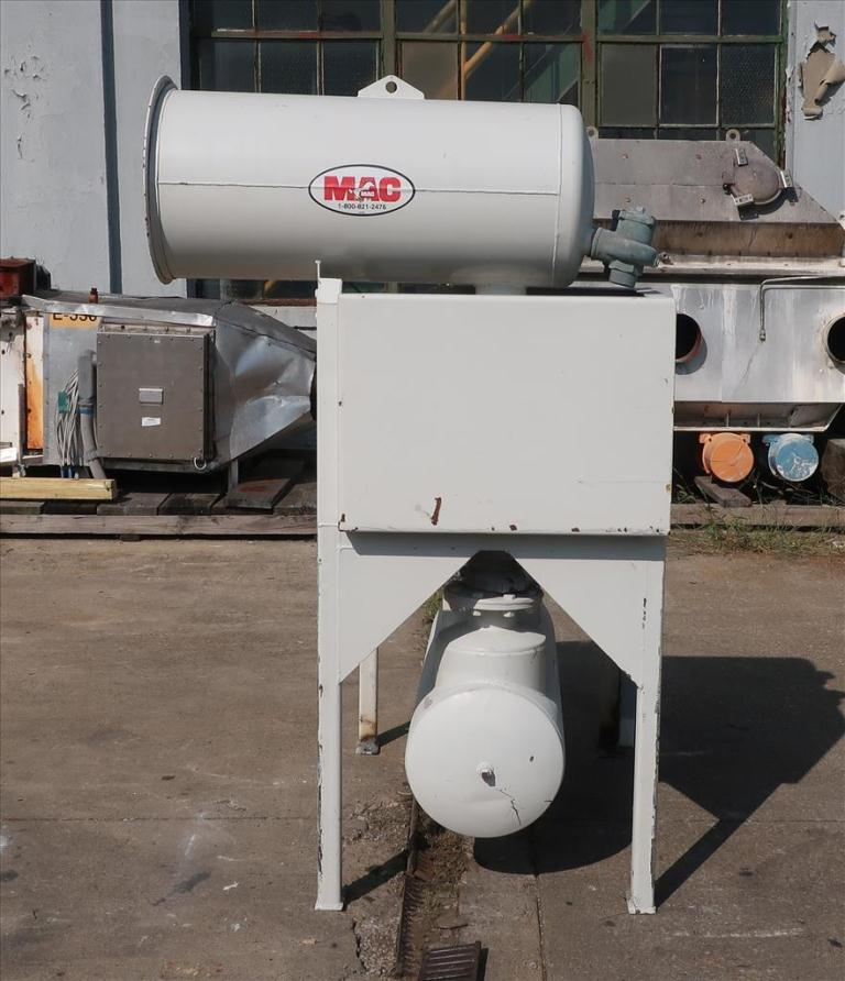 Blower up to 580 cfm, positive displacement blower MAC Equipment Inc., 5 hp5