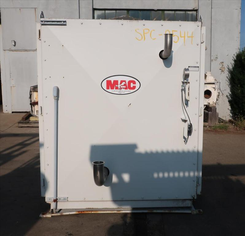 Blower up to 580 cfm, positive displacement blower MAC, 15 hp4