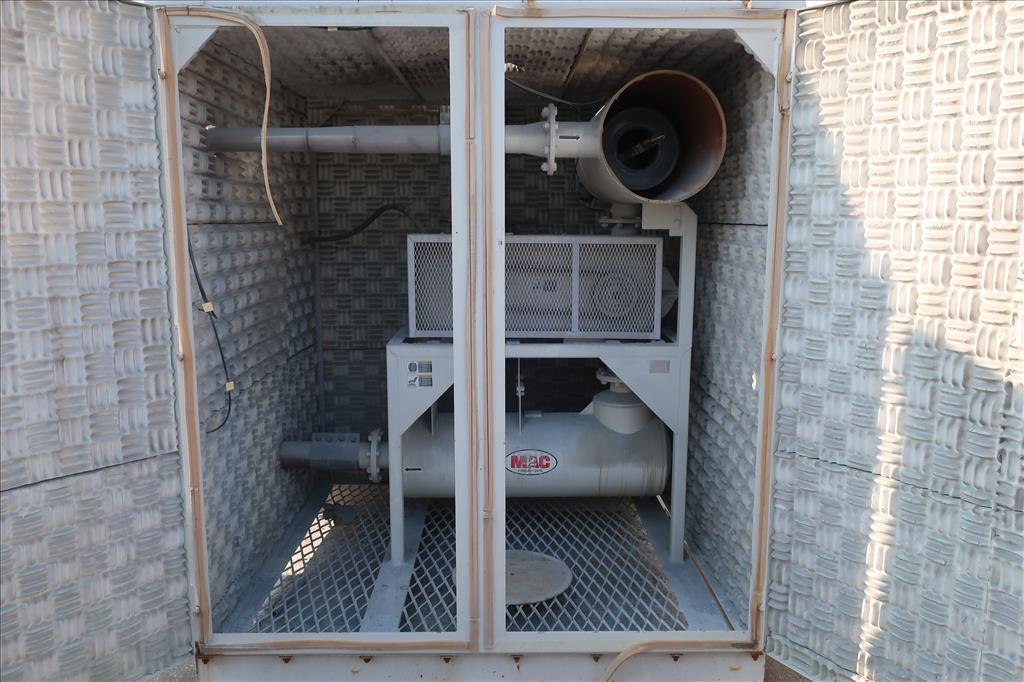 Blower up to 580 cfm, positive displacement blower MAC, 15 hp7