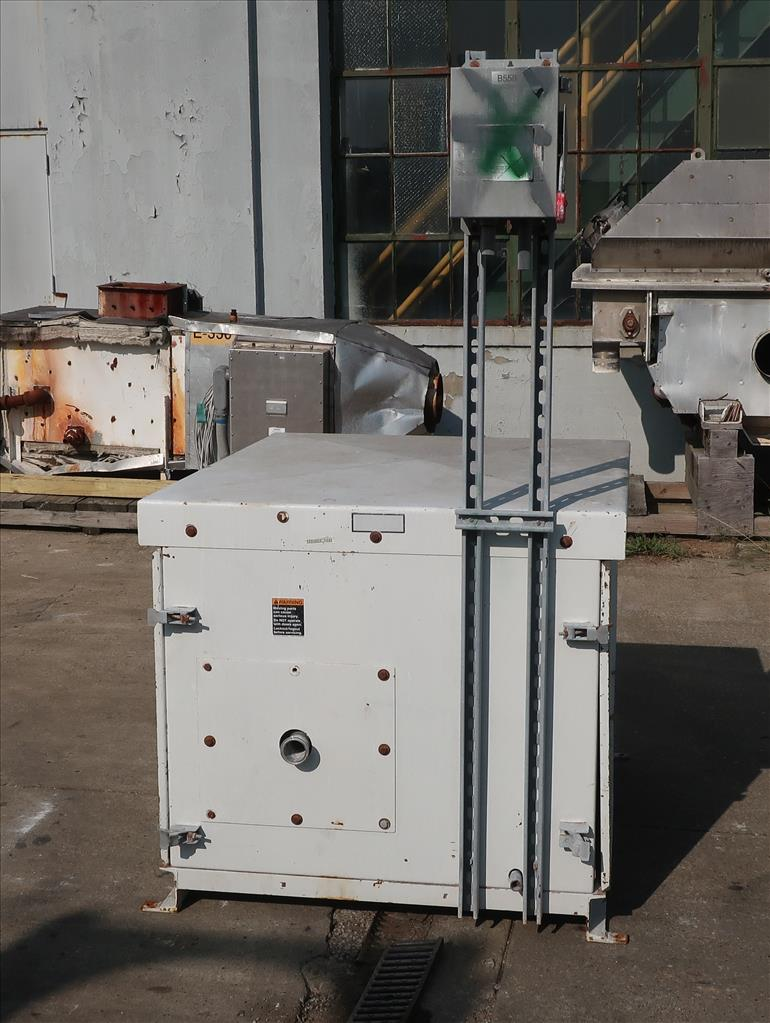 Pump 117 cfm Busch vacuum pump model RC0160 7.5 hp, CS4
