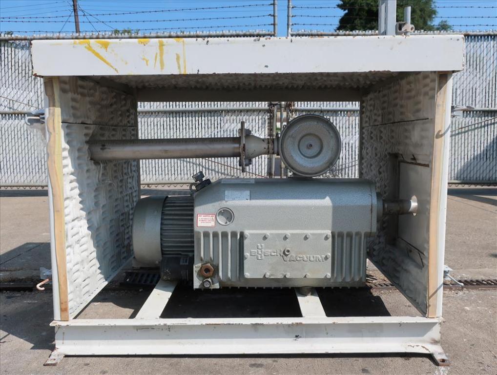 Pump 117 cfm Busch vacuum pump model RC0160 7.5 hp, CS5