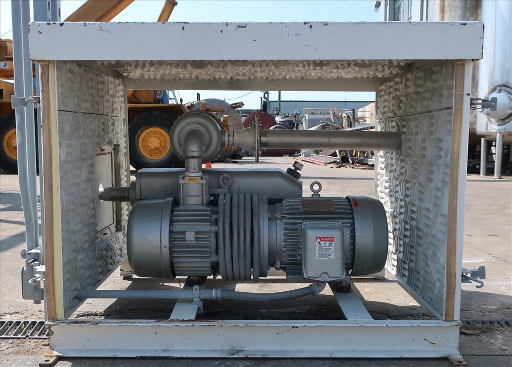 Pump 117 cfm Busch vacuum pump model RC0160 7.5 hp, CS6