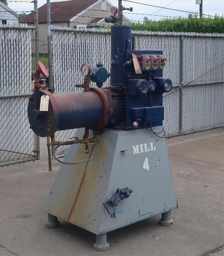 Mill Eiger Machinery horizontal media mill model 20L EXP SSE, 20 L, CS1