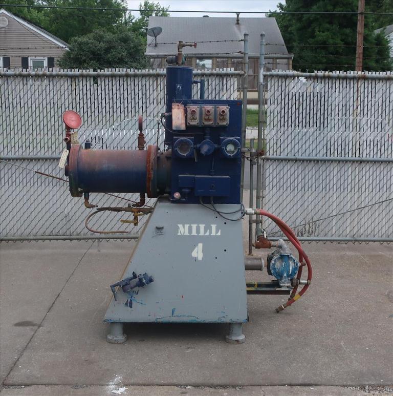Mill Eiger Machinery horizontal media mill model 20L EXP SSE, 20 L, CS2