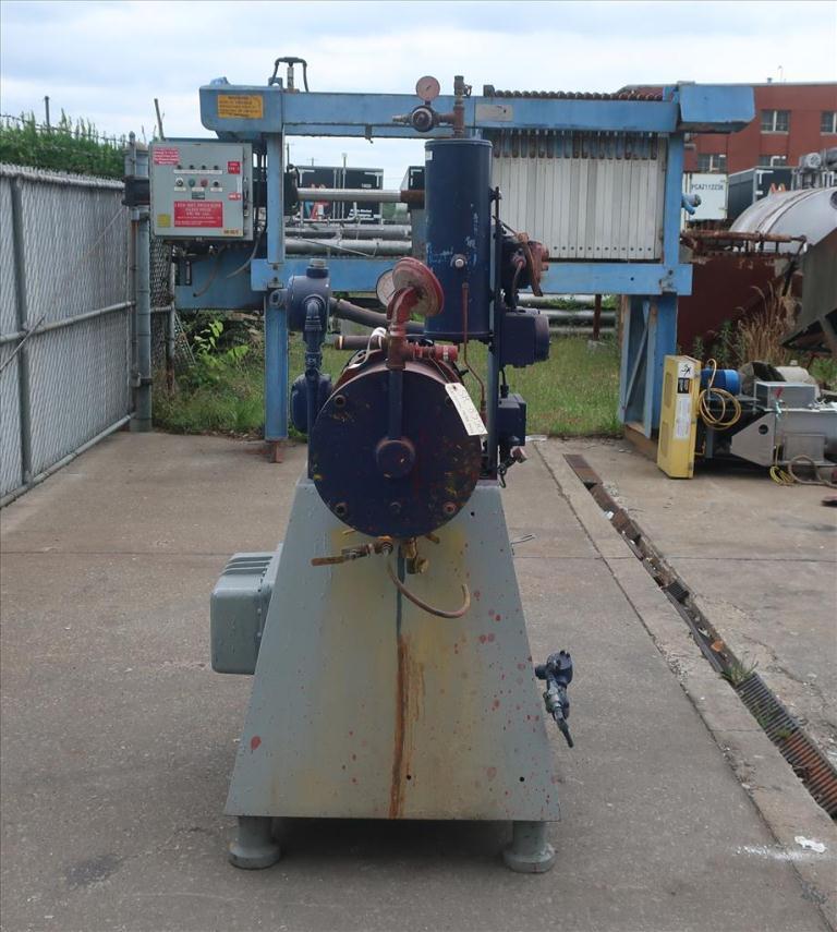 Mill Eiger Machinery horizontal media mill model 20L EXP SSE, 20 L, CS3