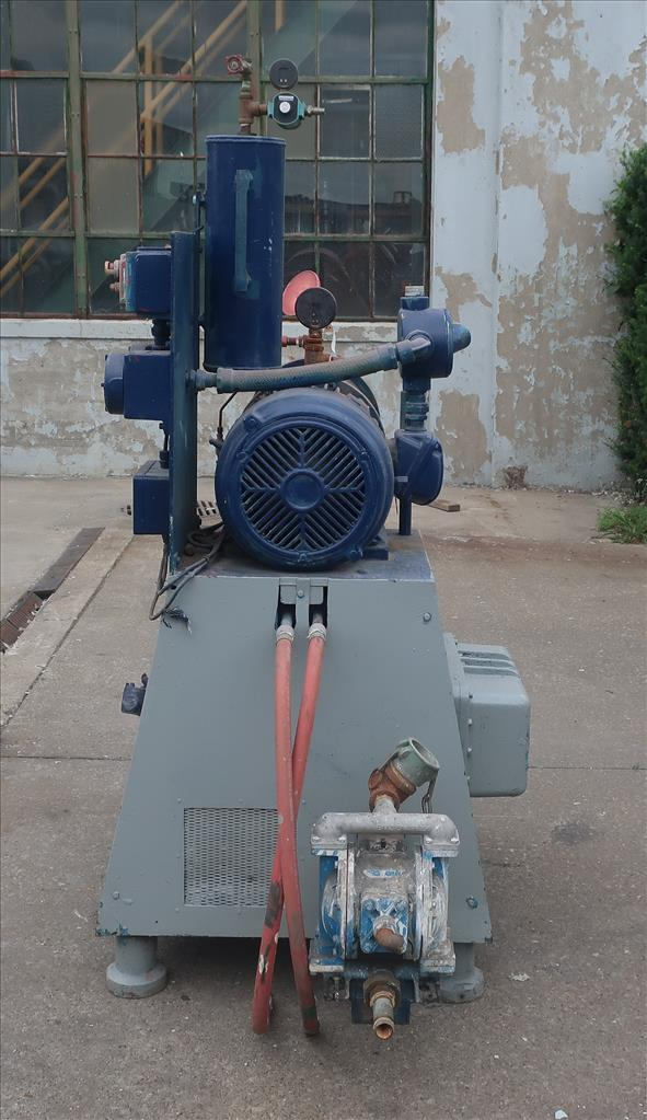 Mill Eiger Machinery horizontal media mill model 20L EXP SSE, 20 L, CS4