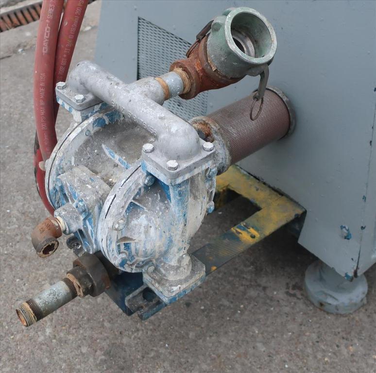 Mill Eiger Machinery horizontal media mill model 20L EXP SSE, 20 L, CS6
