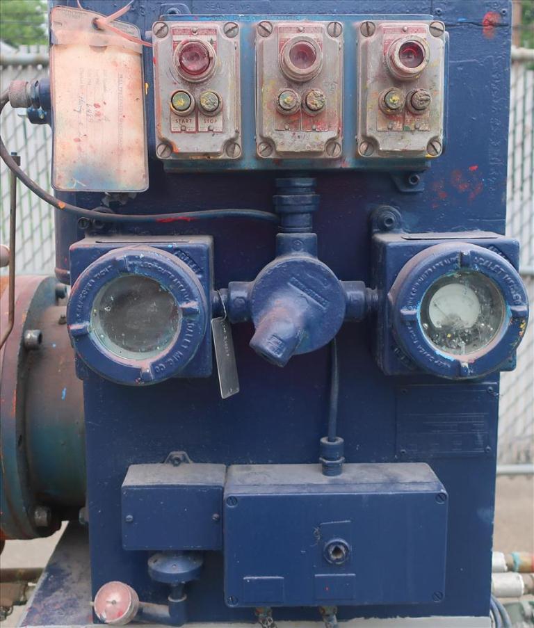 Mill Eiger Machinery horizontal media mill model 20L EXP SSE, 20 L, CS7
