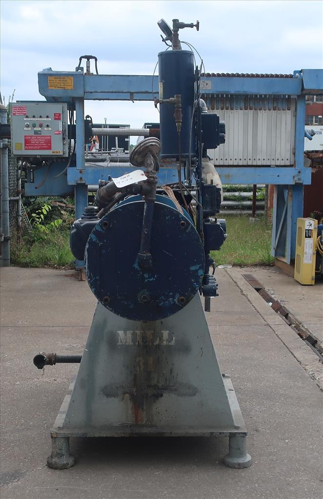 Mill Eiger Machinery horizontal media mill model ABM 40H EXP, 40 L, CS3
