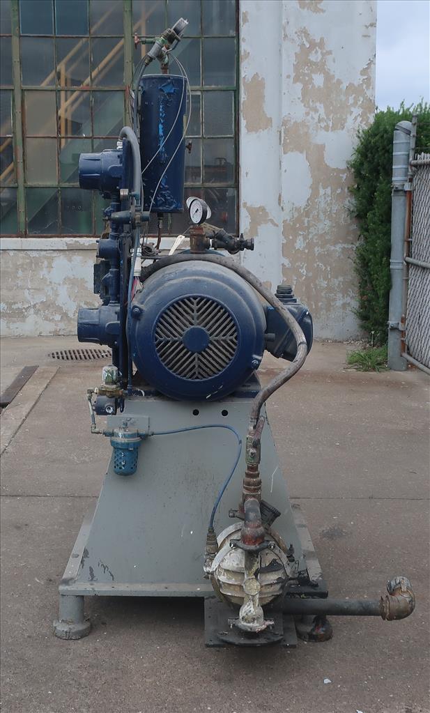 Mill Eiger Machinery horizontal media mill model ABM 40H EXP, 40 L, CS5