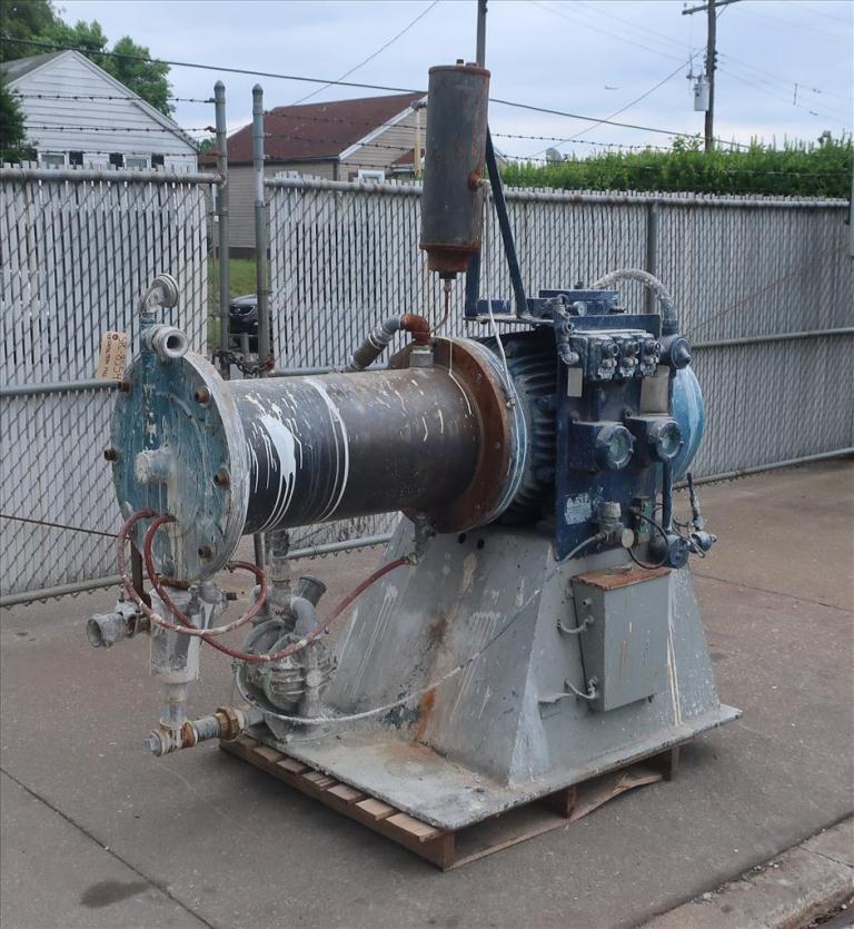Mill Eiger Machinery horizontal media mill model 75L SSE EXP, 75 L, CS1