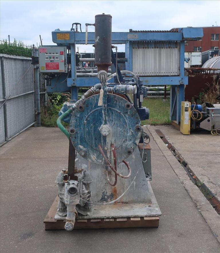 Mill Eiger Machinery horizontal media mill model 75L SSE EXP, 75 L, CS3