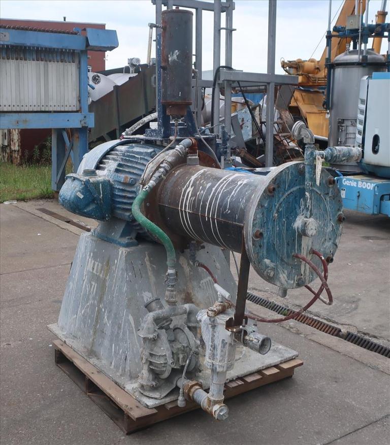 Mill Eiger Machinery horizontal media mill model 75L SSE EXP, 75 L, CS4