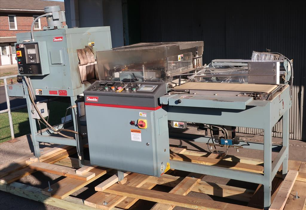 Wrapping machine Shanklin automatic shrink wrapping machine model A26A, speed up to 35 ppm1