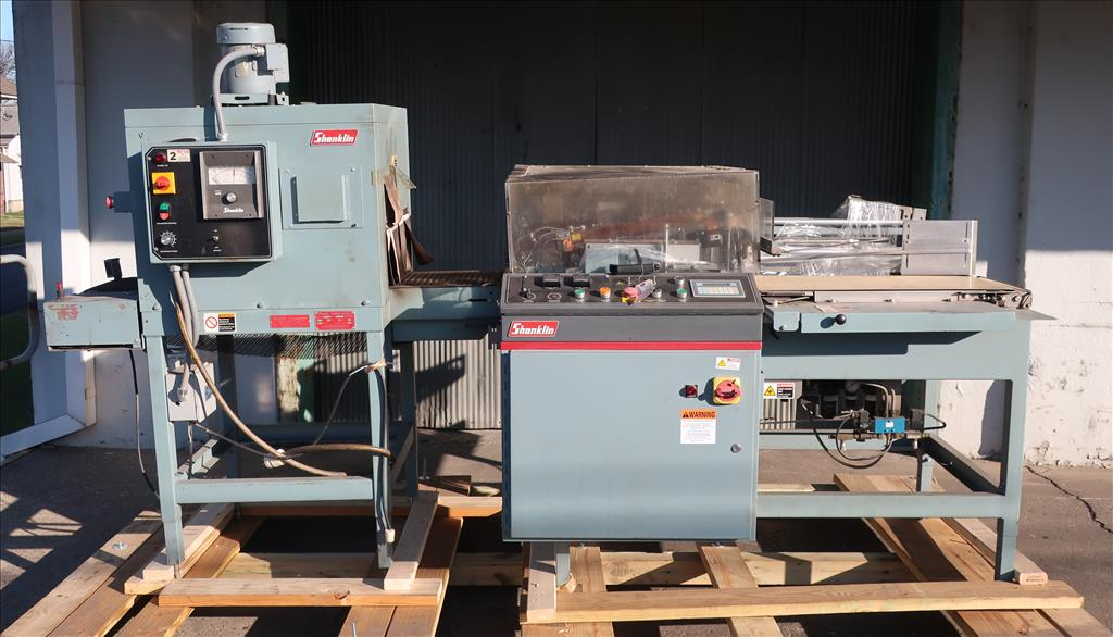 Wrapping machine Shanklin automatic shrink wrapping machine model A26A, speed up to 35 ppm2