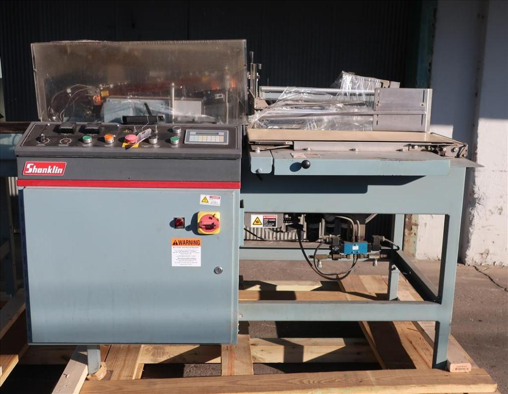 Wrapping machine Shanklin automatic shrink wrapping machine model A26A, speed up to 35 ppm3
