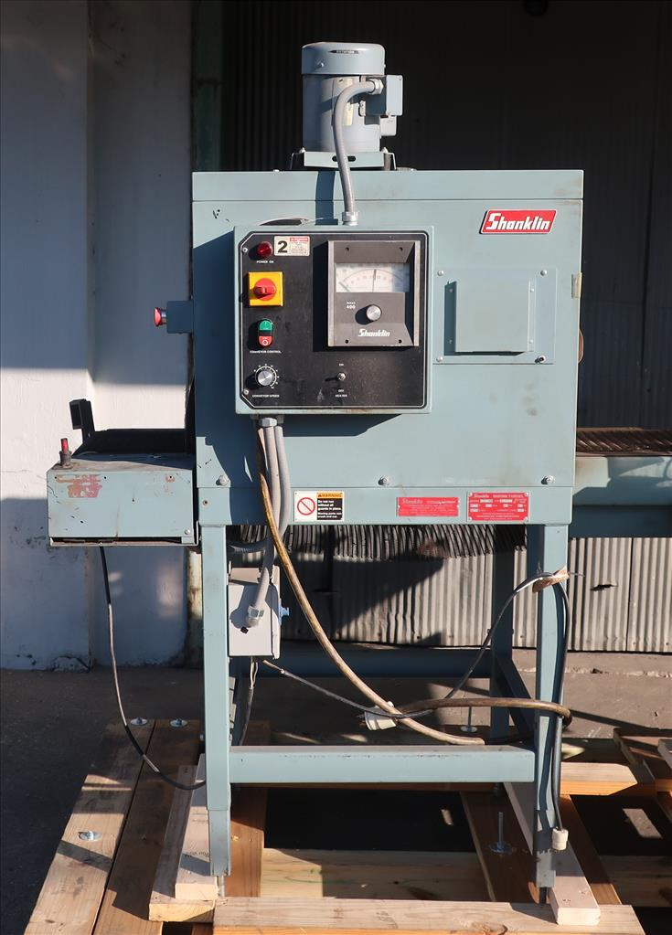 Wrapping machine Shanklin automatic shrink wrapping machine model A26A, speed up to 35 ppm5