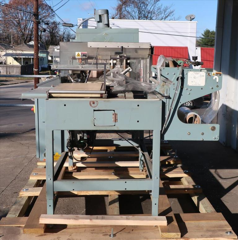 Wrapping machine Shanklin automatic shrink wrapping machine model A26A, speed up to 35 ppm9