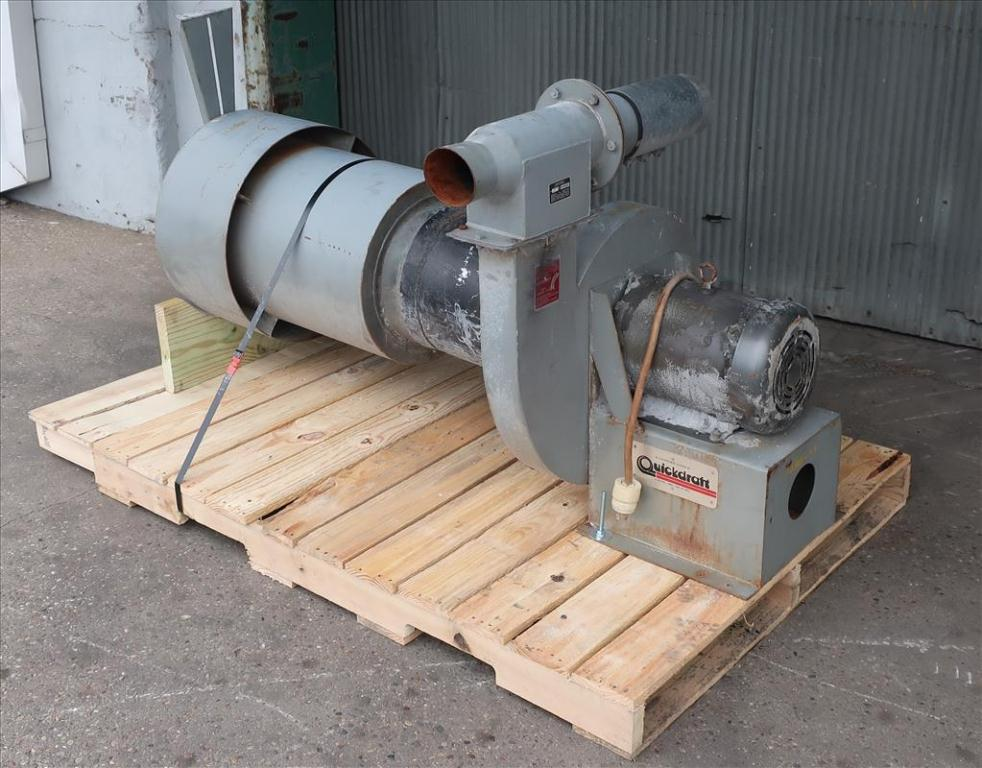 Blower centrifugal fan Quickdraft model MH-5 1/2, 7.5 hp, CS1