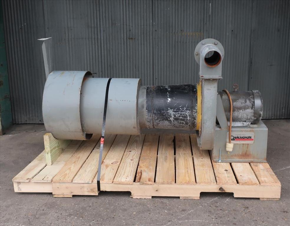 Blower centrifugal fan Quickdraft model MH-5 1/2, 7.5 hp, CS2