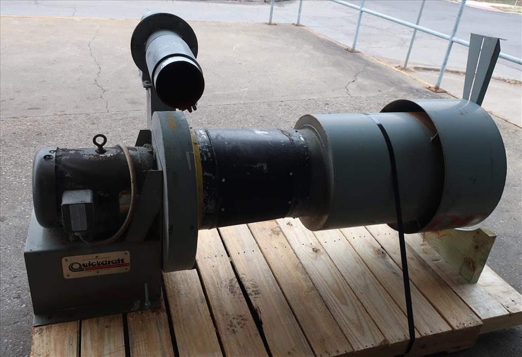 Blower centrifugal fan Quickdraft model MH-5 1/2, 7.5 hp, CS4