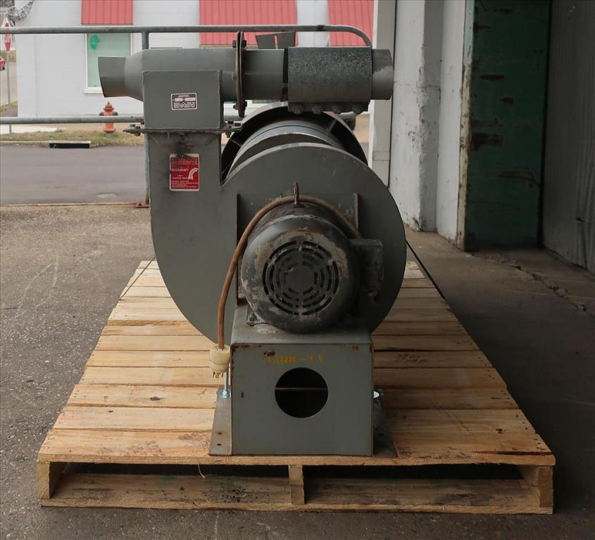 Blower centrifugal fan Quickdraft model MH-5 1/2, 7.5 hp, CS5