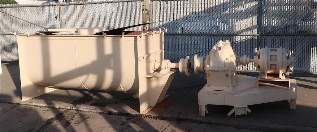 Mixer and Blender 50 cu. ft. capacity ribbon blender, 15 hp, CS1