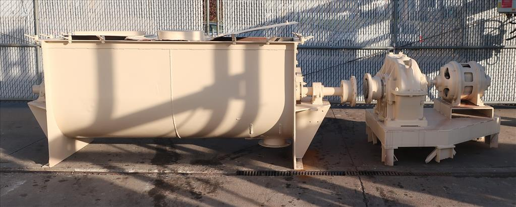 Mixer and Blender 50 cu. ft. capacity ribbon blender, 15 hp, CS2