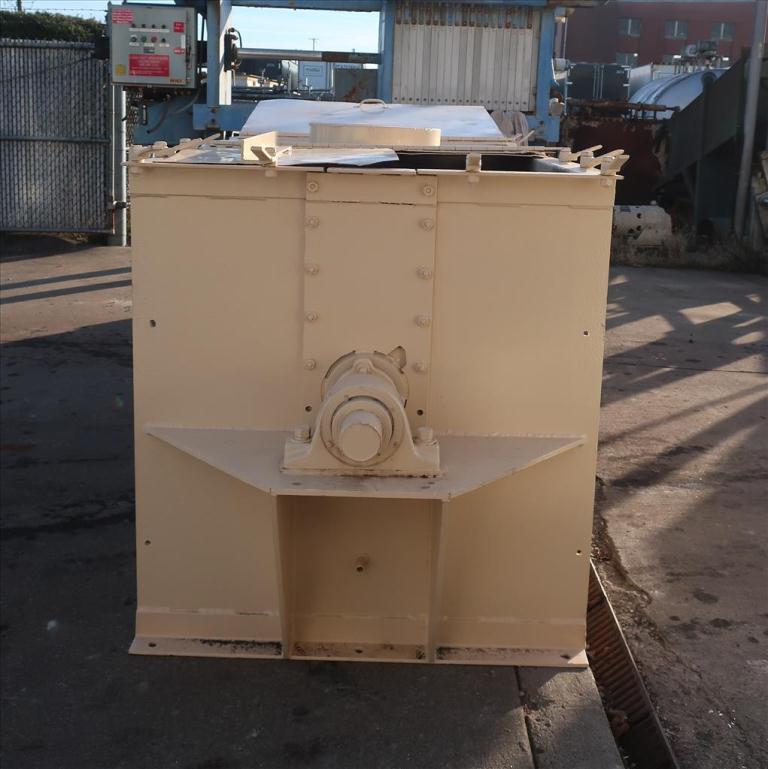 Mixer and Blender 50 cu. ft. capacity ribbon blender, 15 hp, CS3