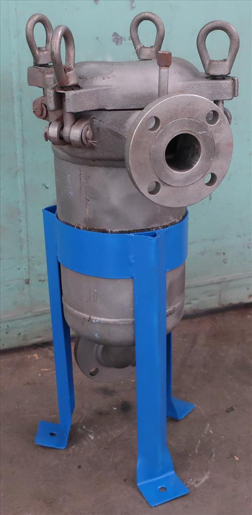 Filtration Equipment 2.25 Filter Specialists Incorporated basket strainer (single), model C, Stainless Steel1