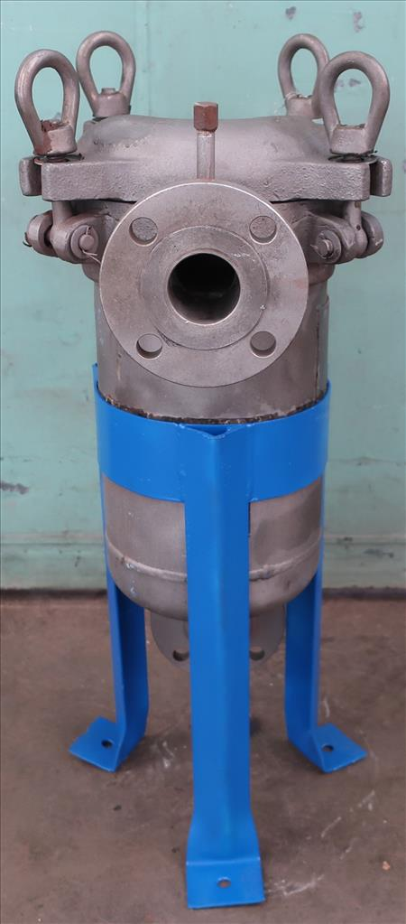 Filtration Equipment 2.25 Filter Specialists Incorporated basket strainer (single), model C, Stainless Steel2