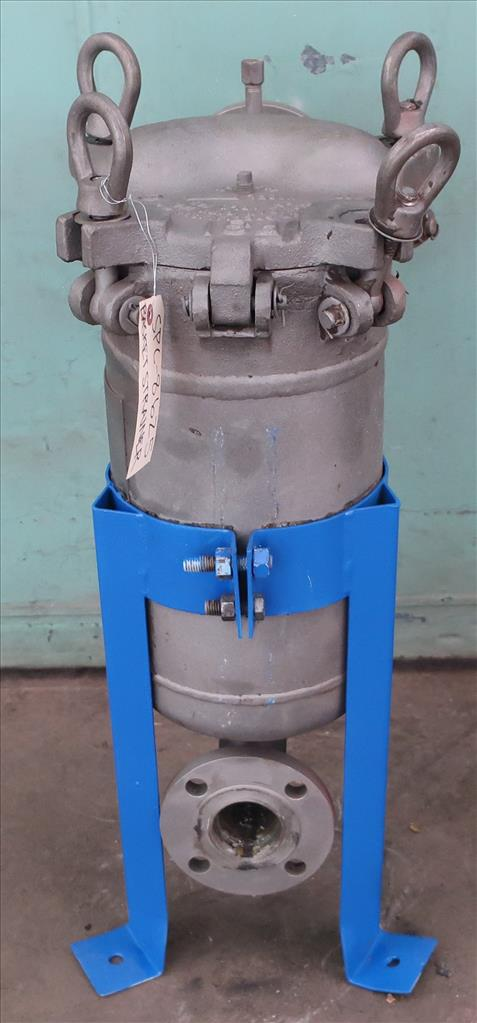 Filtration Equipment 2.25 Filter Specialists Incorporated basket strainer (single), model C, Stainless Steel3