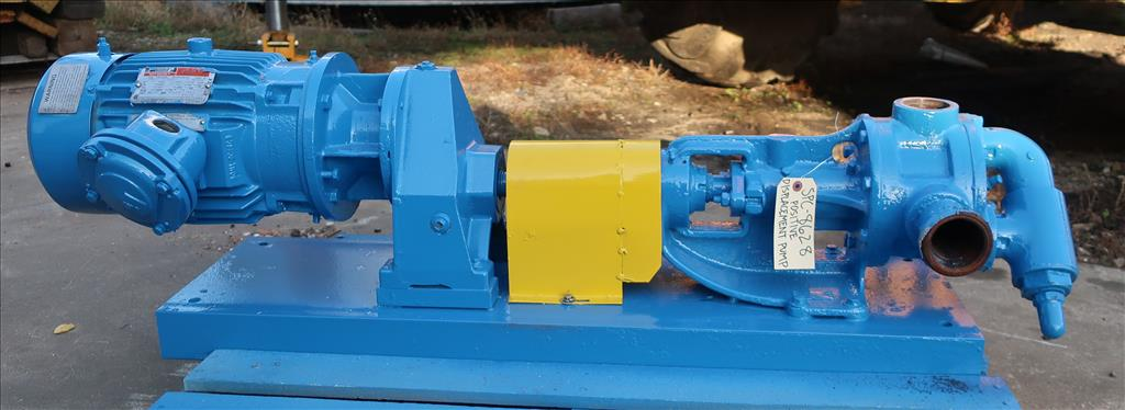 Pump 2 inlet Viking positive displacement pump model KK124, 3 hp, Cast Iron2
