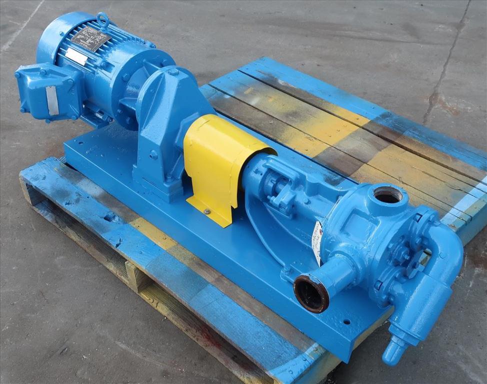 Pump 2 inlet Viking positive displacement pump model KK124, 2.0/3.0 hp, Cast Iron1