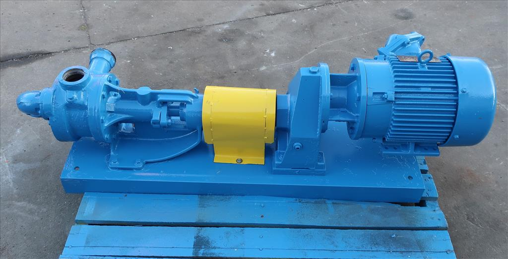 Pump 2 inlet Viking positive displacement pump model KK124, 2.0/3.0 hp, Cast Iron3