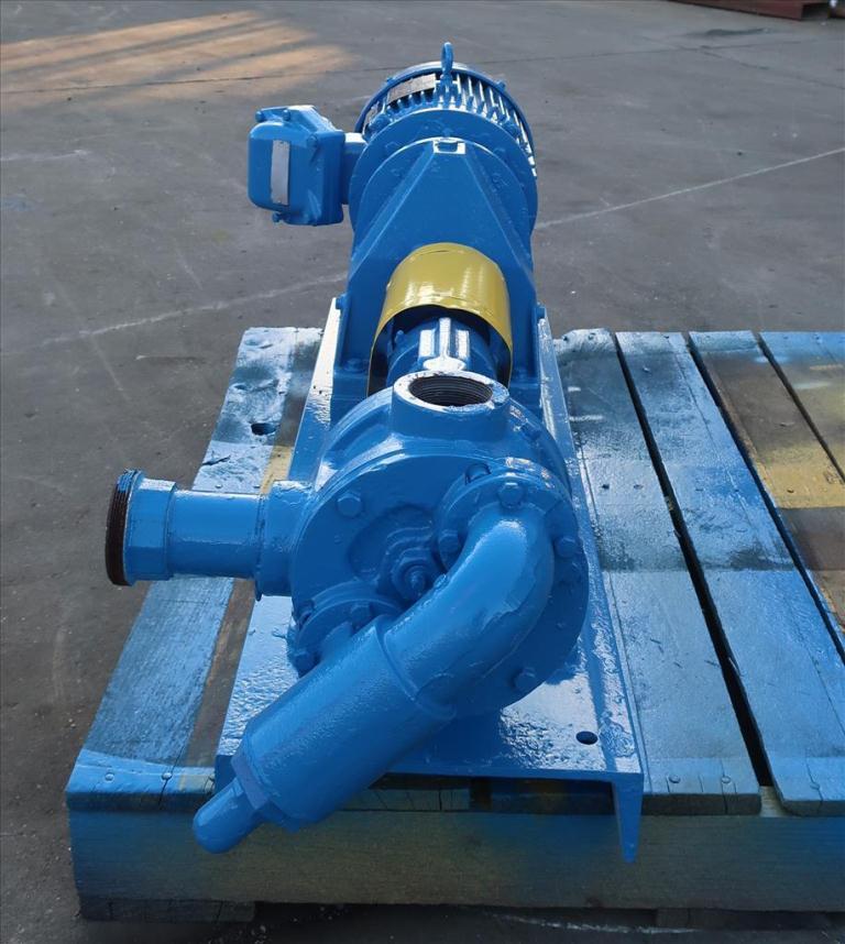 Pump 2 inlet Viking positive displacement pump model KK124, 2.0/3.0 hp, Cast Iron4