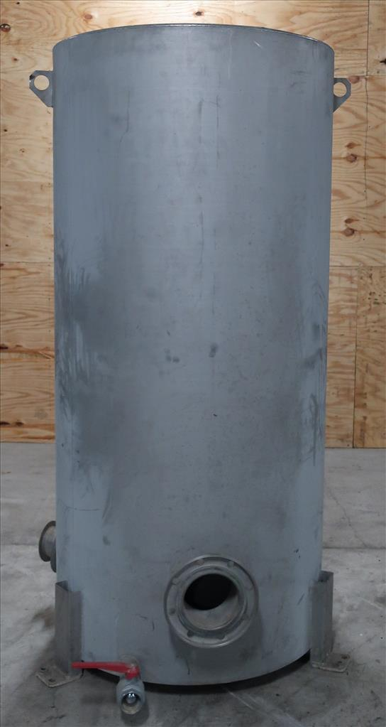Tank 350 gallon vertical tank, Stainless Steel, flat3