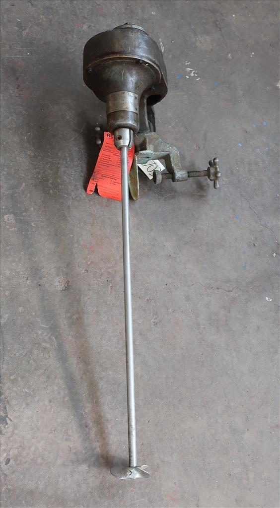 Agitator 1/3 hp Mixmor clamp-on agitator, model GA-13
