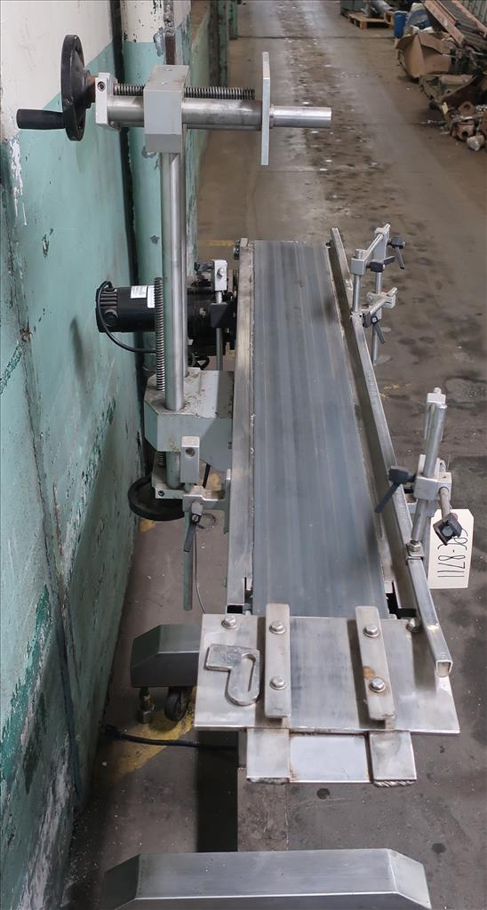 Conveyor Midwest Packaging Systems belt conveyor Stainless Steel, 23 W x 56 L x 54 H2
