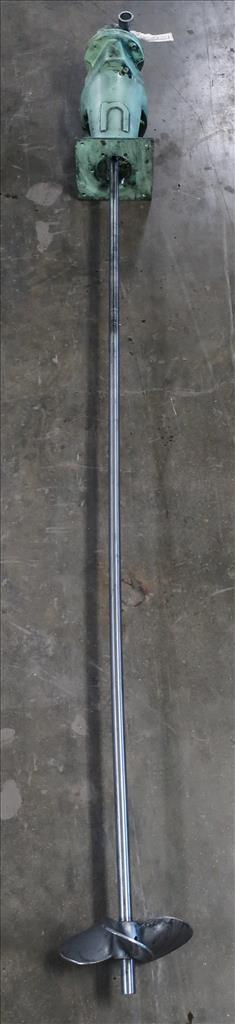 Agitator Nettco top mount agitator model NSDB-050, 83 long shaft, pneumatic1