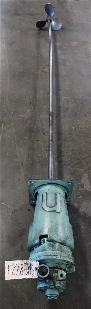Agitator Nettco top mount agitator model NSDB-050, 83 long shaft, pneumatic3