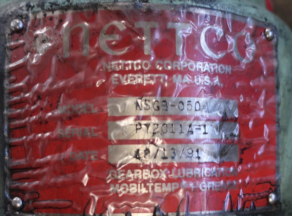 Agitator Nettco top mount agitator model NSDB-050, 83 long shaft, pneumatic4