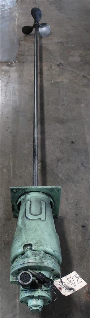 Agitator Nettco top mount agitator model NSGB-050, 83 long shaft, pneumatic3