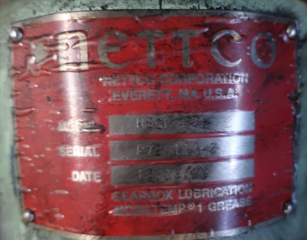 Agitator Nettco top mount agitator model NSGB-050, 83 long shaft, pneumatic4