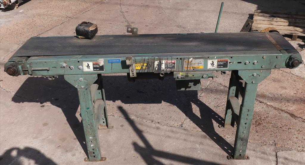Conveyor Hytrol belt conveyor model TA, CS, 12 x 702