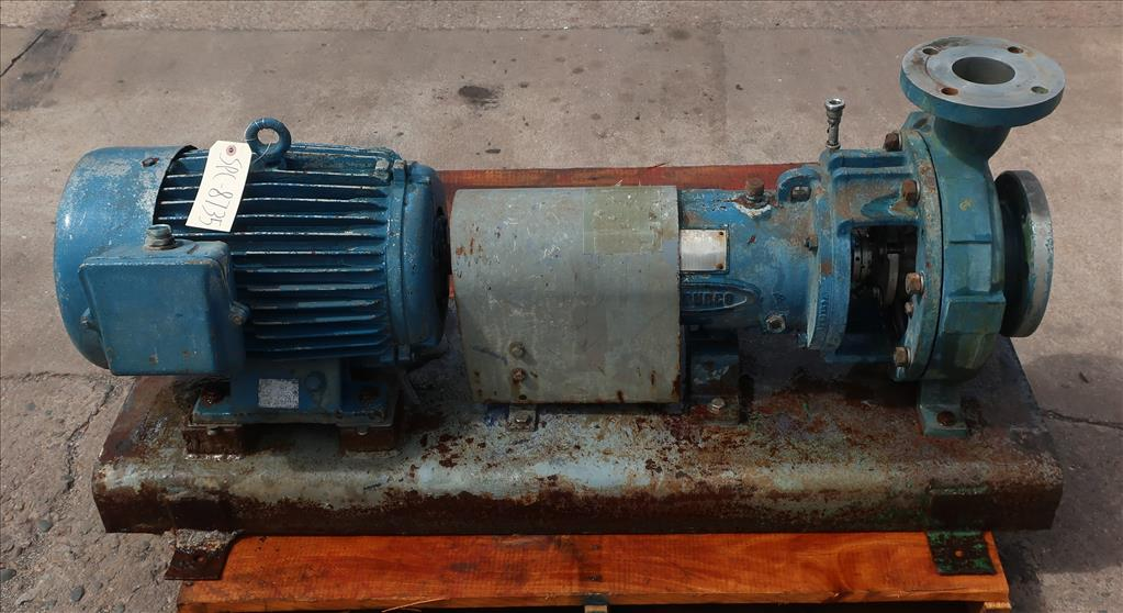 Pump 2K4X3M Durco centrifugal pump, 15 hp, Stainless Steel1